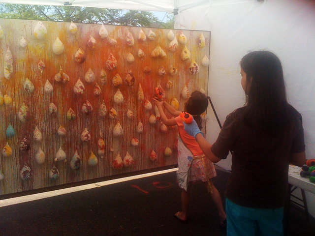 Carnival Balloon Game at Art City Austin