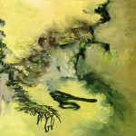 Conifer, painting