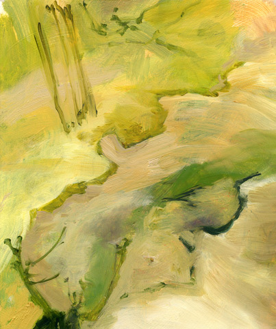 Pale Reed Emphatic, painting