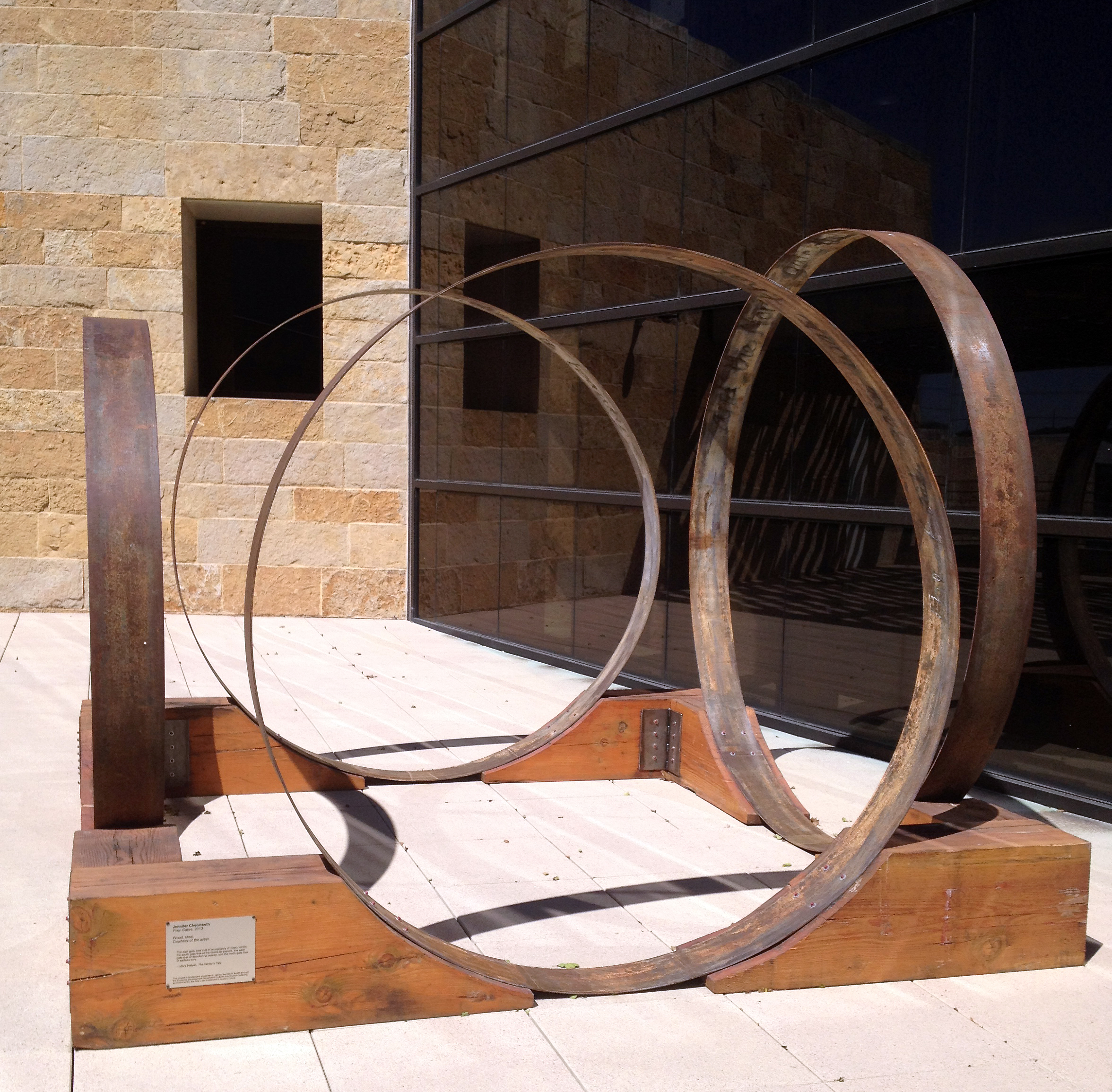 Four Gates at Austin City Hall