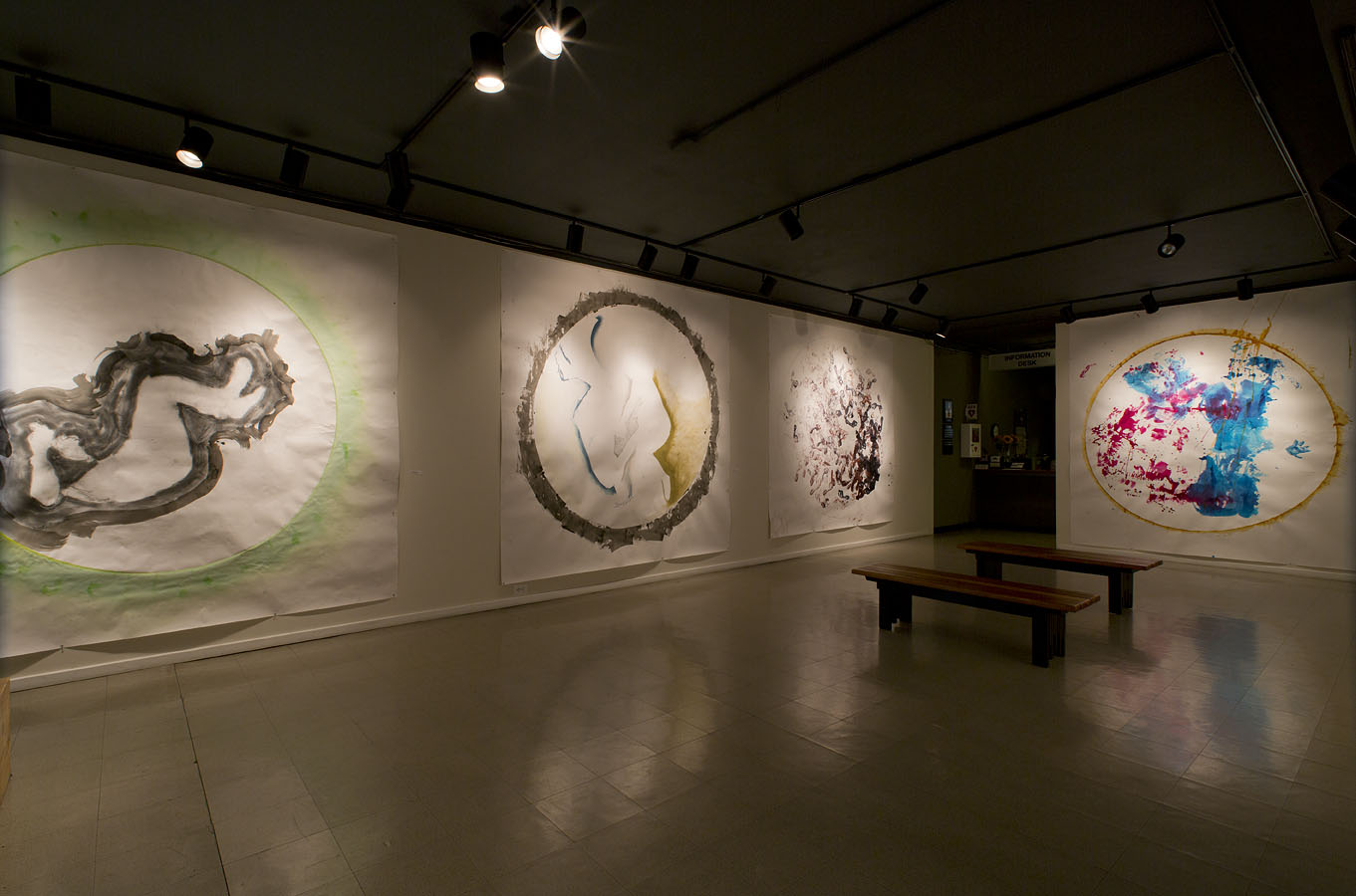 Four Gates Large Drawings, Sacred Space Exhibit