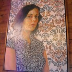 Felice House's portrait, Fisterra Studio, EAST 2011, by Judith Simonds