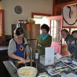 Jennifer and friends cooking posole, EAST 2012 at Fisterra Studio by Philip Rogers