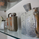 Erik Tragus's Ceramic pieces, EAST 2012 at Fisterra Studio by Dante Dominick