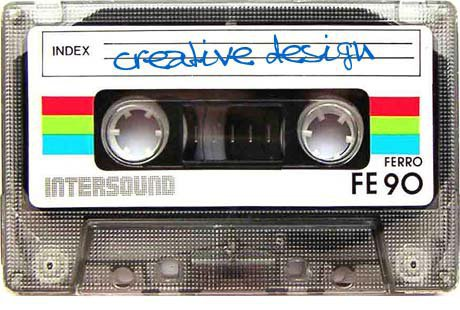 Creative Design Cassette Tape, KOOP 91.7 Radio ReMIX