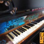 Hand Painted Piano, EAST 2013 at Fisterra Studio by Leslie Vela