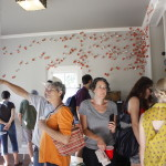 People looking at Art, EAST 2013 at Fisterra Studio by Dante Dominick