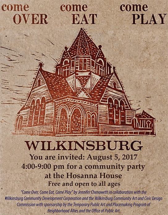 Tip Type poster and ad in the Wilkinsburg Sun